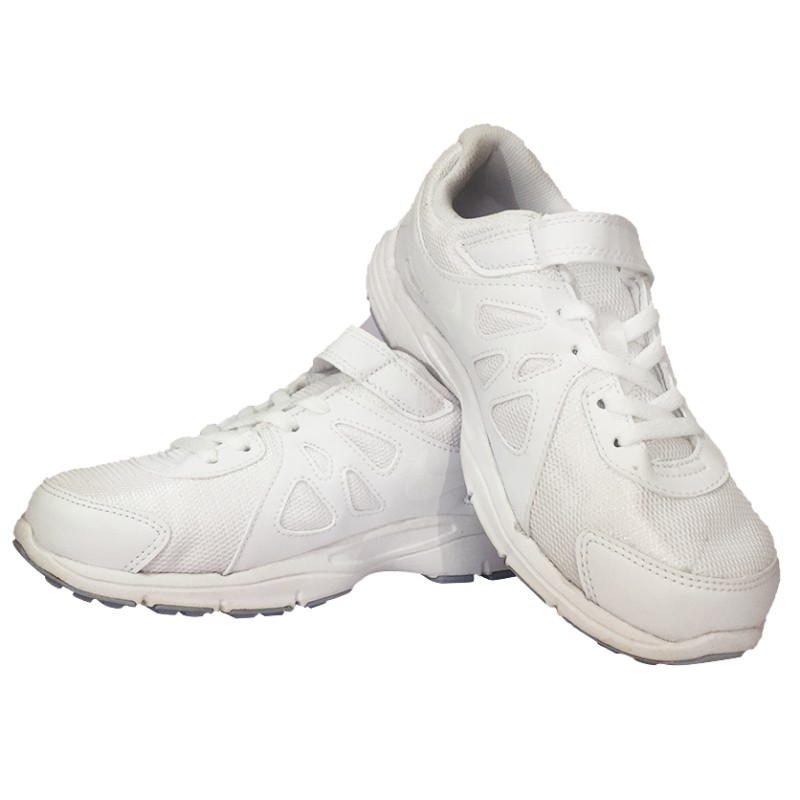 low priced b5669 0d158 Nike Revolution School Shoes – White – 7US-13US